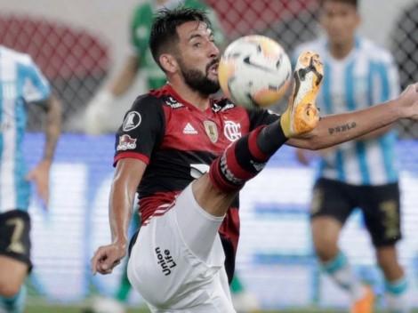 Isla rechaza oferta del Villarreal para seguir en Flamengo