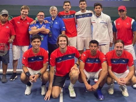 Horario: Chile busca avanzar ante Eslovaquia en Copa Davis