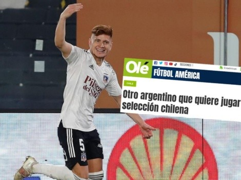 """Olé loco con Leo Gil: """"Argentino figura de Colo Colo quiere jugar para Chile"""""""