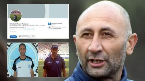 Cristián Paulucci tiene más de 15 años de trabajo como entrenador al llegar a la posición de entrenador del primer equipo de Universidad Católica