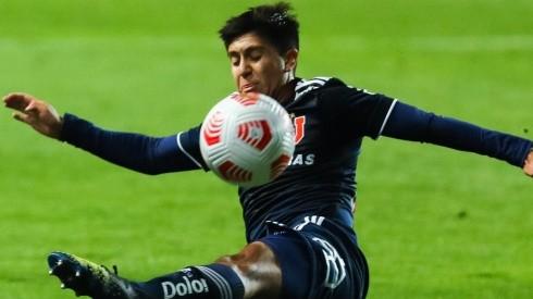Marcelo Morales confía en que llegará sin problemas al duelo de la U contra Colo Colo. Foto: Agencia UNO