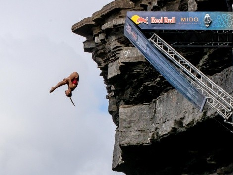 Hacen historia en el Red Bull Cliff Diving World Series