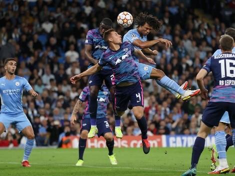¡Guerra de goles! City derrota en partidazo al Leipzig