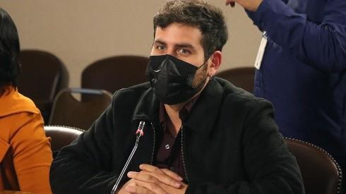 Diego Ibáñez en la Comisión de Constitución de la Cámara