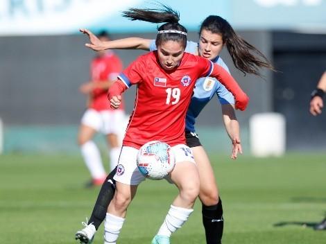 La Roja femenina se hizo fuerte en Juan Pinto Durán ante Uruguay