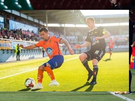 DM para Lasarte: Niklas Castro marca un triplete en Noruega