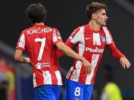 Pifias para Griezmann de los hinchas del Atlético Madrid
