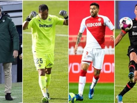 Cuatro chilenos y Sampaoli arrancan el sueño en Europa League