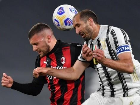 Horario: Juventus recibe a Milan en un nuevo clásico por la Serie A