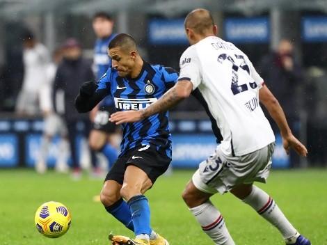 ¿Cuándo y a qué hora juega el Inter de Vidal y Sánchez vs el Bologna de Medel?