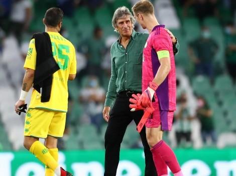 Pellegrini orgulloso por la remontada del Betis en la Europa League