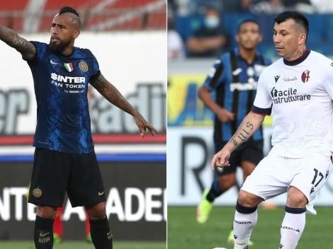 Vidal y Medel titulares en el duelo de chilenos en Italia