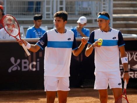 ¿Cuándo y a qué hora juega Chile el dobles de la Copa Davis ante Eslovaquia?