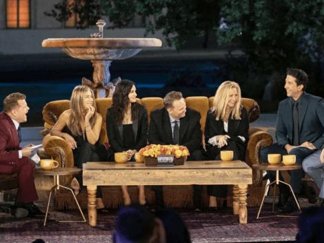 Jennifer Aniston revela que la reunión de Friends fue más difícil de lo que esperaban