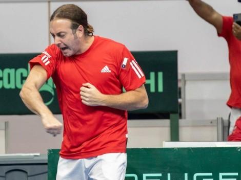¡Pura garra! El partido aparte de Massú en la Copa Davis