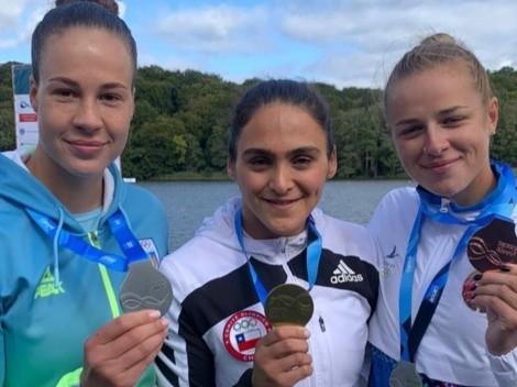 ¡Campeona! Mailliard conquista oro en el Mundial de Canotaje