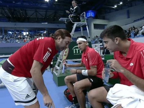 Chile cae en el dobles y se enreda la serie ante Eslovaquia