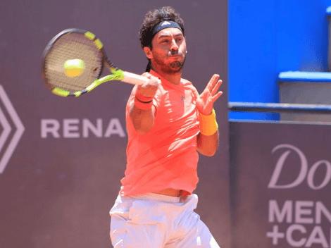 Gonzalo Lama saca la cara por el tenis chileno
