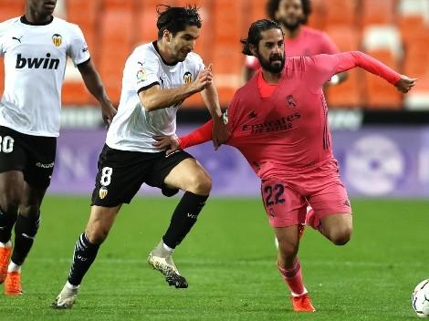 Valencia y Real Madrid buscan el liderato exclusivo de La Liga