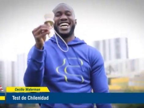 """Waterman en test de chilenidad: """"Tengo que probar el terremoto"""""""