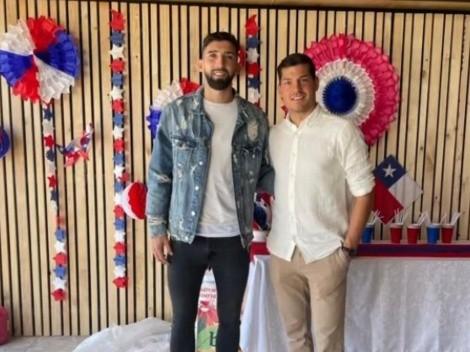Jugadores de Colo Colo festejan juntos las Fiestas Patrias