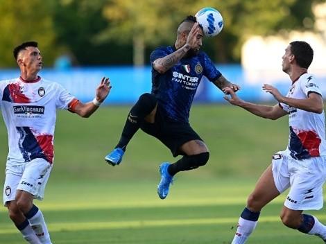 Advierten que Vidal se perderá otro partido más con Inter