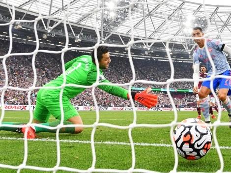 No para: otro gol de Cristiano Ronaldo para Manchester United