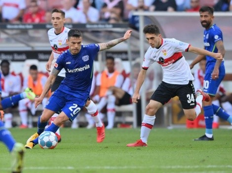 Buen triunfo del Bayer y Charles Aránguiz contra Stuttgart