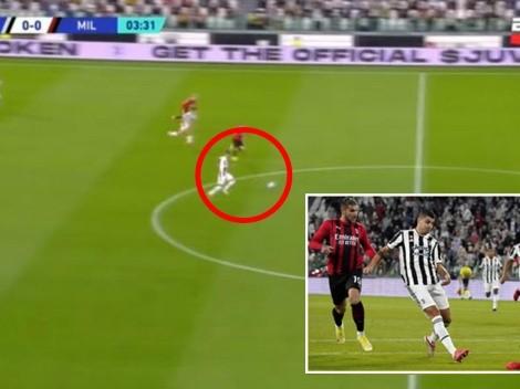 Corrió toda la cancha: súper golazo de Morata no le basta a la Juve