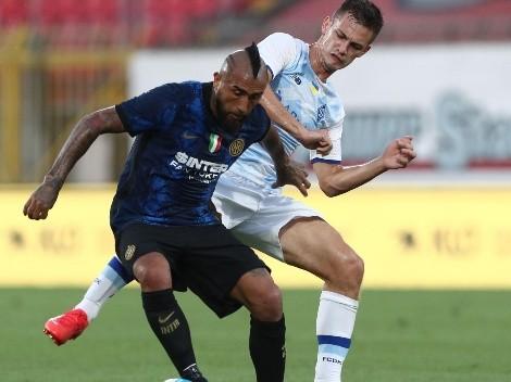 Tiembla Lasarte: Inter confirma que  Vidal sigue lesionado