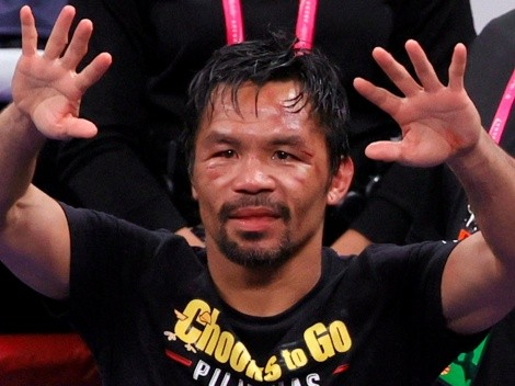 "Manny Pacquiao: ""Mi carrera como boxeador se acabó"""