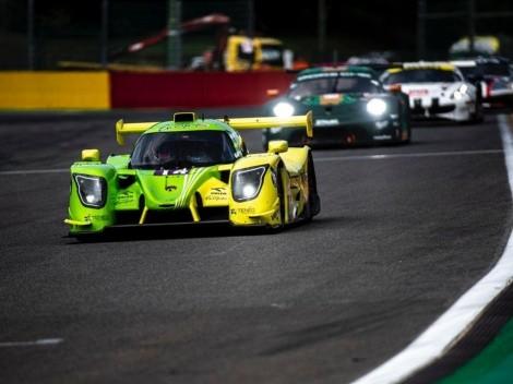Pino logra valioso debut en la European Le Mans Series