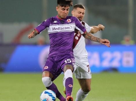 Pulgar se lesiona y queda fuera en la Fiorentina ante Inter