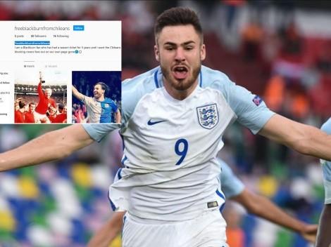 """""""Liberen a Blackburn de los chilenos"""", polémica cuenta de hincha inglés"""