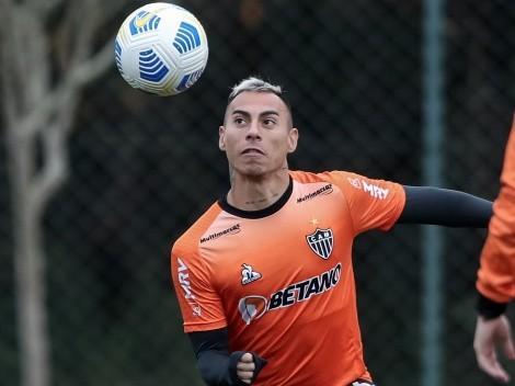 Vargas celebra su golazo de penal en Brasil con una bromita