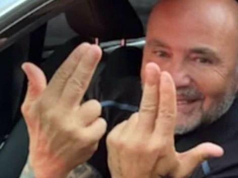 Sampaoli hace un gesto con las manos y revoluciona Marsella
