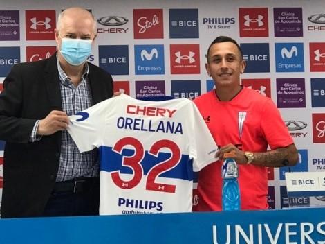 Orellana asegura que no vino a retirarse y defiende el fútbol chileno