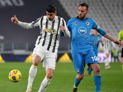 ¿Cuándo y a qué hora juega Spezia vs Juventus por la Serie A?
