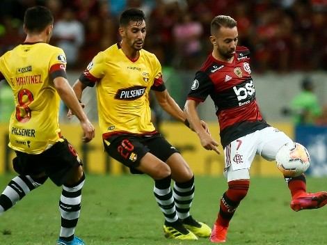 Flamengo y Barcelona SC animan la segunda  semis de Copa Libertadores