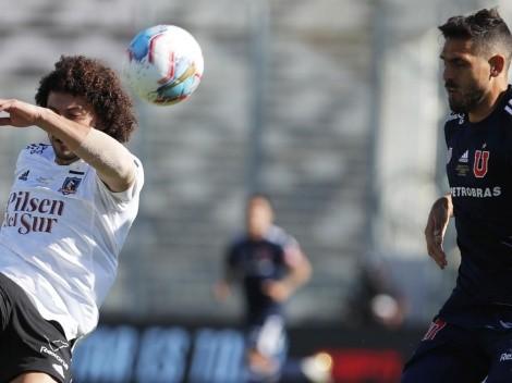 """Peluca y una clave de Colo Colo: """"Marcar lo mejor posible a Larrivey"""""""