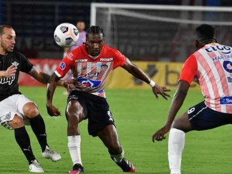 Carepato es suplente en la semifinal de ida de la Sudamericana