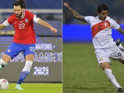 Lapadula vs Brereton, duelo europeo en Perú-Chile