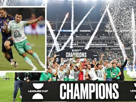 ¡León campeón! Meneses y Dávila le dan su primer título internacional