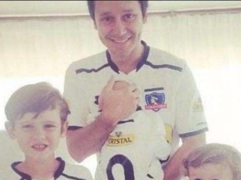 Benjamín Vicuña juega fútbol con marido de Pampita