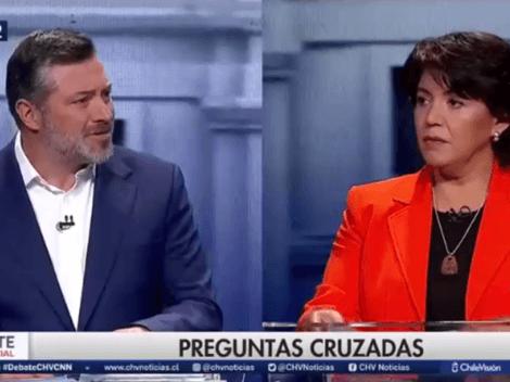 Revive los 'lapsus' de Provoste contra Sichel en el primer Debate Presidencial