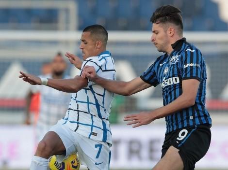 Horario: Inter desafía a Atalanta con un Alexis que busca más minutos