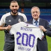 """200 goles en La Liga con el Real Madrid: """"Este club es toda mi vida"""""""