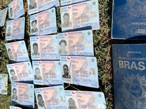 Decenas de cédulas chilenas son encontradas en la frontera de México con EEUU