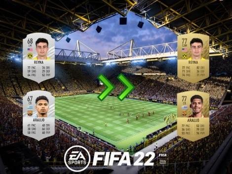 Estos son los 10 jugadores que más evolucionaron en FIFA 22