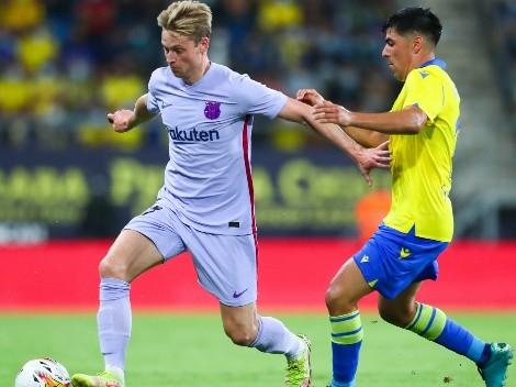 Alarcón se come la cancha ante el Barça